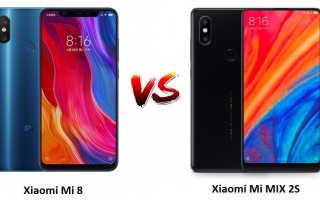 Что выбрать: Mi Mix 2s или Mi8? Сравниваем смартфоны Сяоми