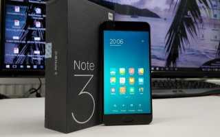 Описание смартфона Xiaomi mi note 3