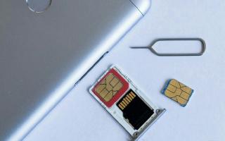 Как вставить симку в смартфоны Xiaomi
