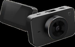 Описание автомобильного видеорегистратора Xiaomi mijia car driving recorder camera