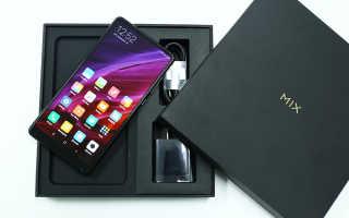 Описание смартфона Xiaomi mi mix 2