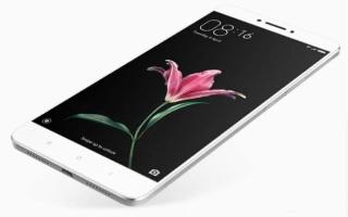 Описание смартфона Xiaomi mi max