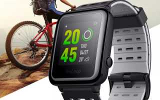 Xiaomi Weloop Hey 3s — обзор спортивных часов Сяоми