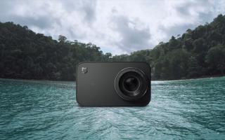 Все о камере Xiaomi Mijia 4k — высокое качество экшн-съемки
