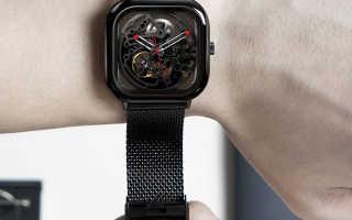 Обзор часов Xiaomi Ciga Design