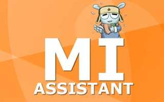 Как установить и настроить Mi Assistant