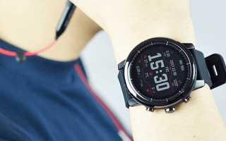 Xiaomi Amazfit SportWatch 2 (Stratos) — умные часы за среднюю цену
