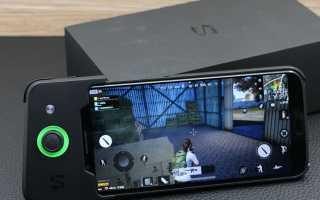 Сяоми «черная акула» — игровой смартфон с отменными характеристиками
