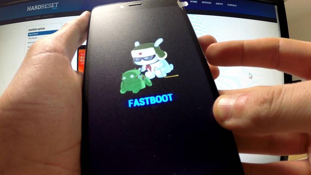"""Режим """"Fastboot"""" на телефоне"""