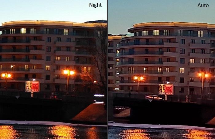 Фото с основной камеры в режиме Night