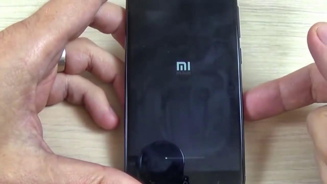 Сброс до заводских настроек Xiaomi Redmi 4x