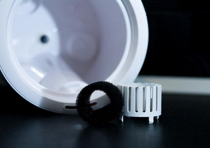 Съемный пластиковый фильтр