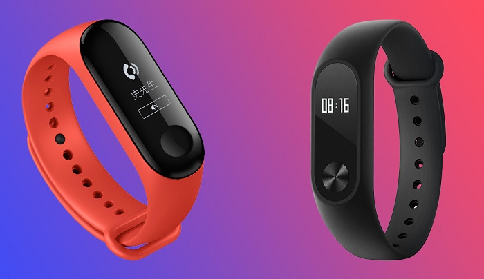 Сравнение Xiaomi Mi Band 3 и Mi Band 2