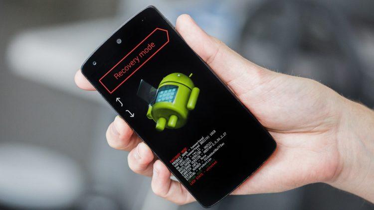 Режим Recovery на смартфоне Xiaomi