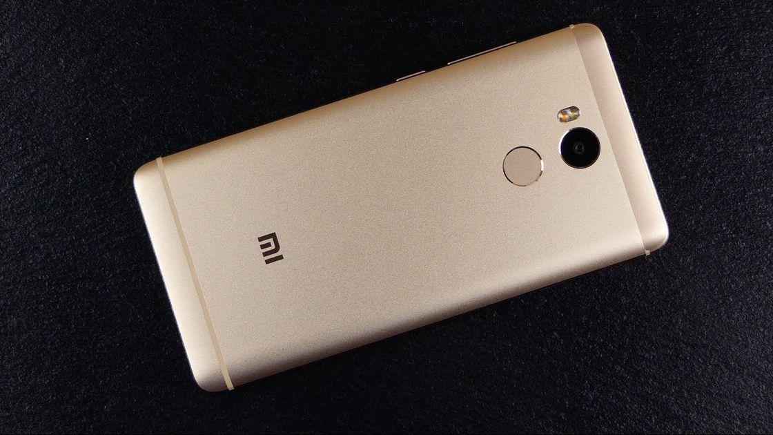 Дизайн Xiaomi redmi 4 prime