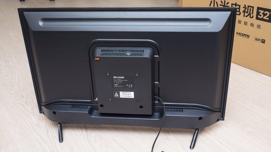 Задняя панель телевизора