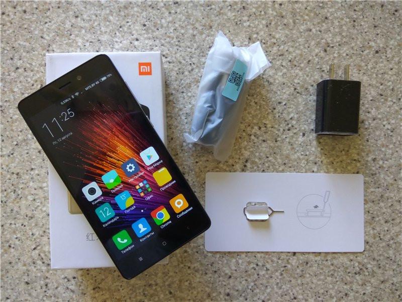 Xiaomi Redmi 3 комплект