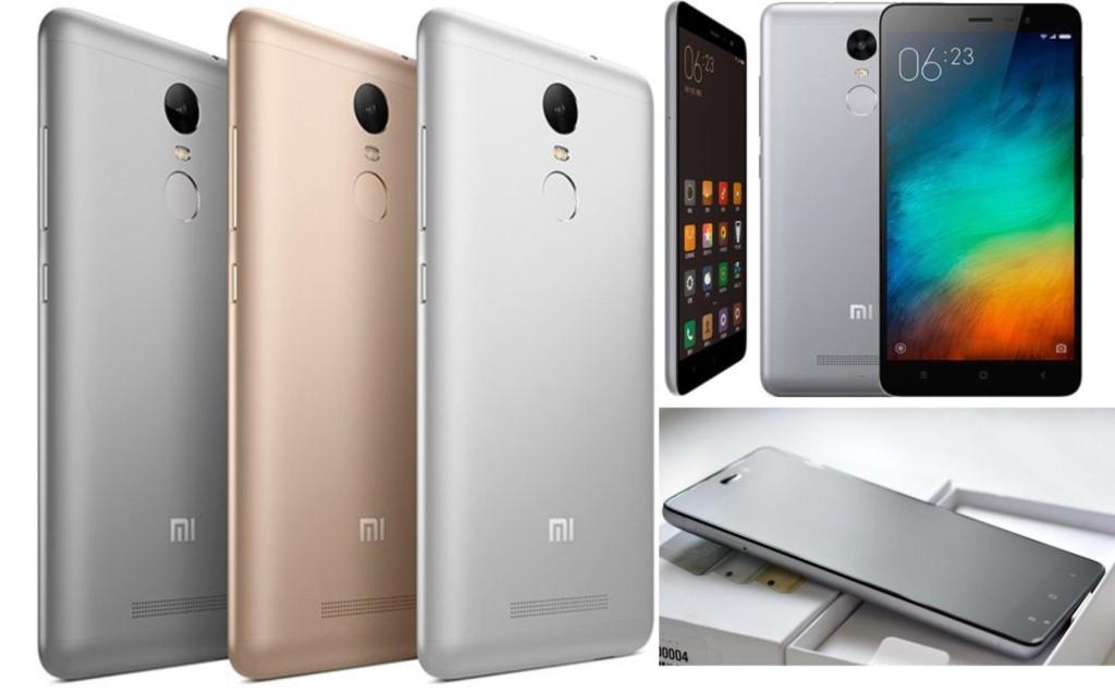 Xiaomi Redmi 3 цвета