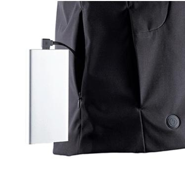 Заряжается куртка от пауэрбанка