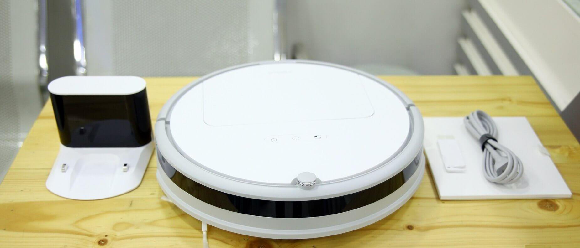 Комплектация робота пылесоса