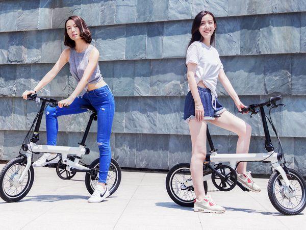 Электровелосипед xiaomi дизайн