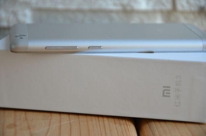 Боковая грань Xiaomi redmi 3