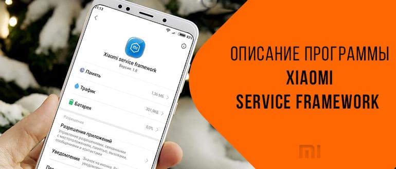 Программа Service Framework