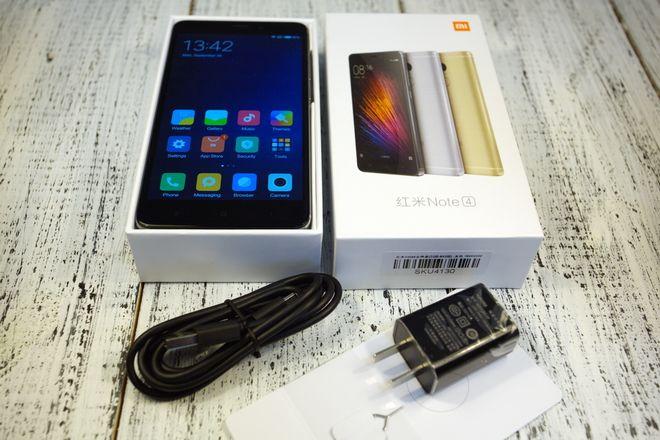 Комплектация Redmi Note 4