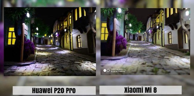Снимки с фронтальной камеры смартфонов
