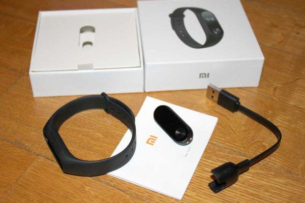Комплектация фитнес-браслета Xiaomi Mi Band 2