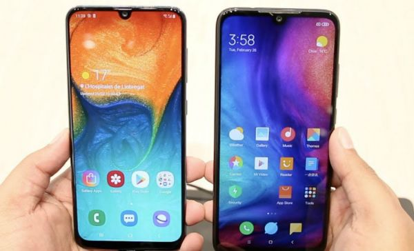 Galaxy A30 и Note 7 качество изображения