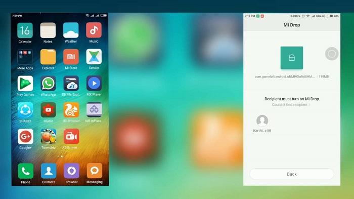 Что за программа Mi Drop на Xiaomi