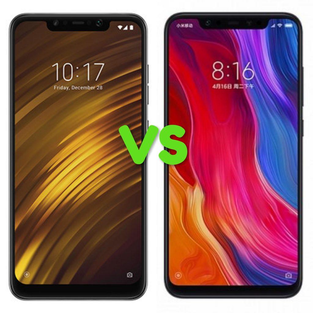 Xiaomi Poco F1 vs Xiaomi Mi 8