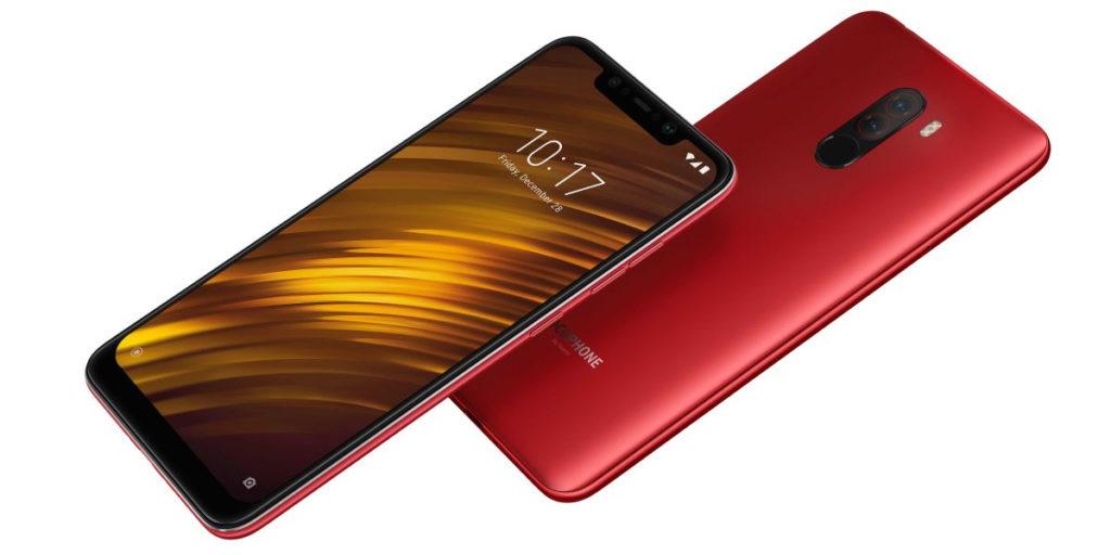 Дизайн Xiaomi Poco F1