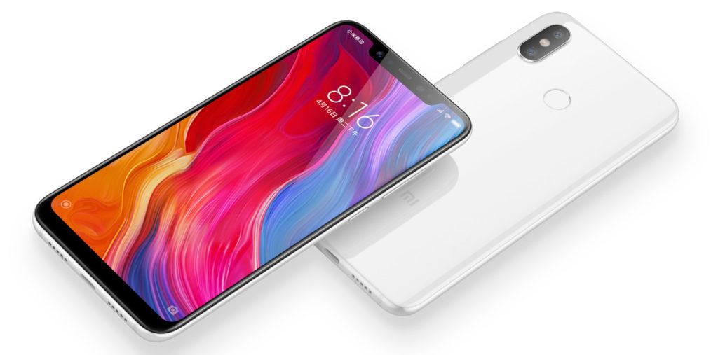 Дизайн Xiaomi Mi 8