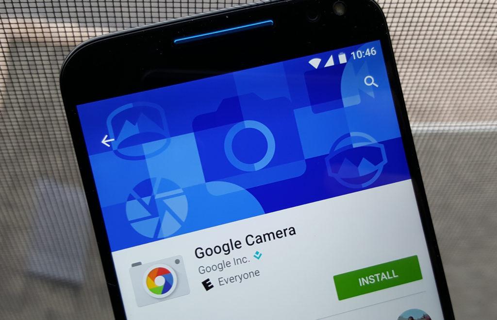 Как установить Гугл Камеру