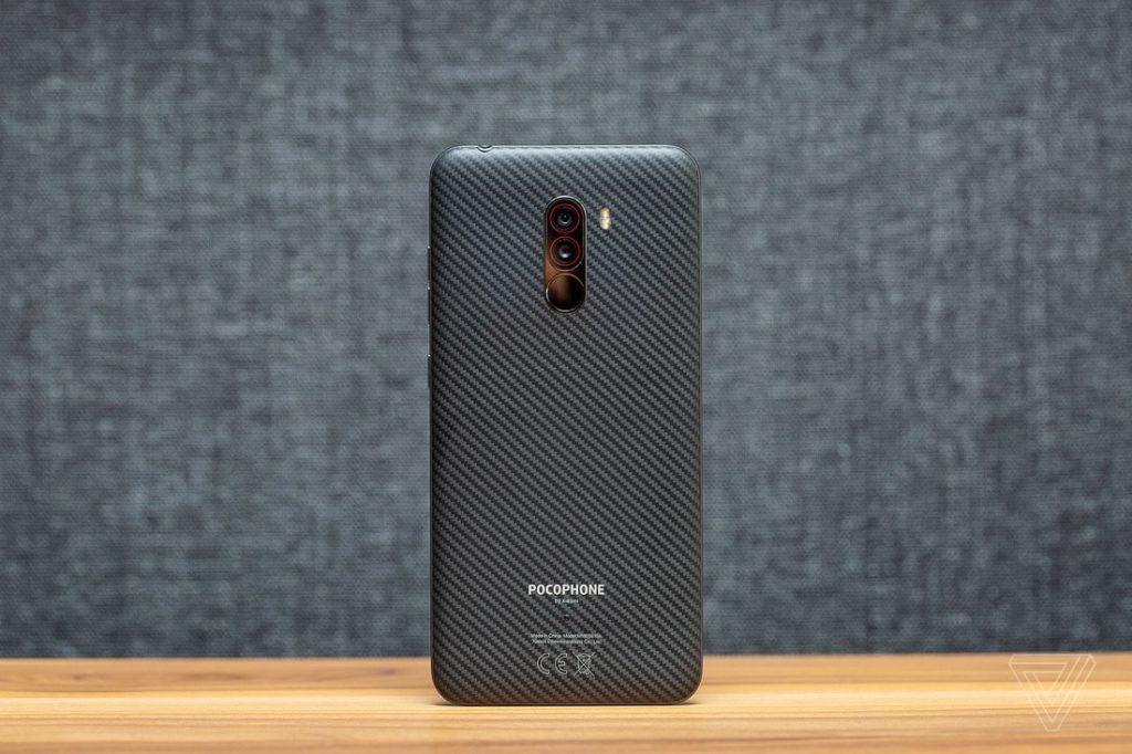 Задний корпус Xiaomi Poco F1