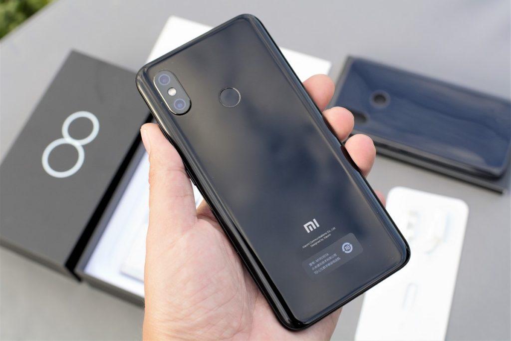 Задний корпус Xiaomi Mi 8