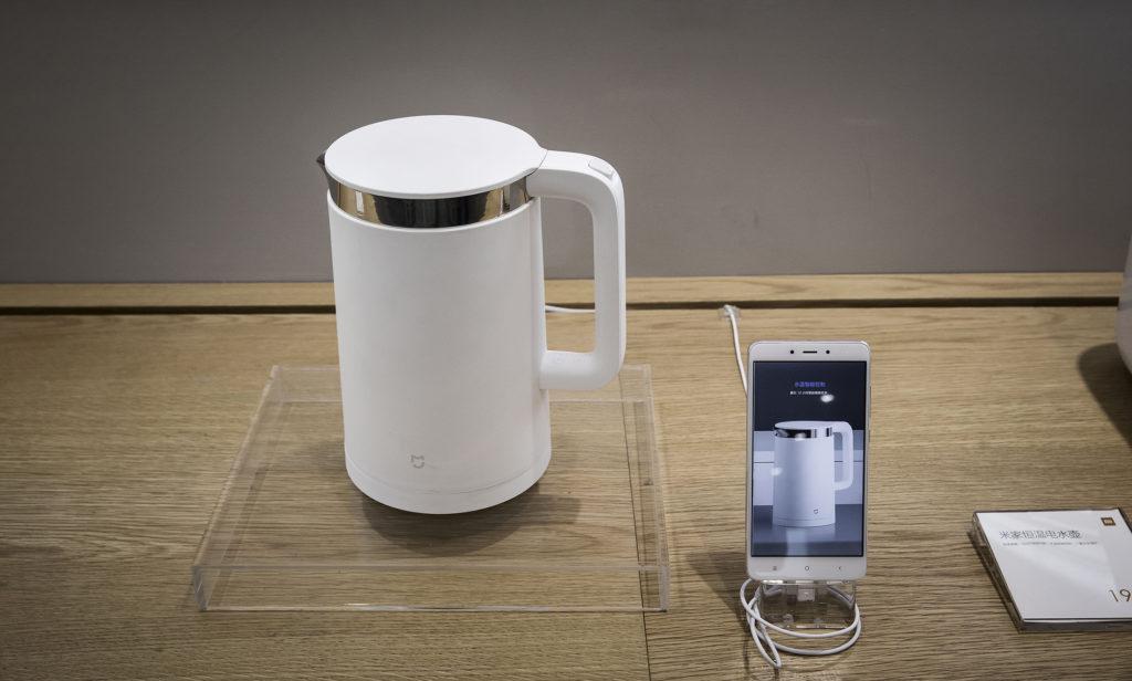 Подключение чайника Xiaomi к телефону