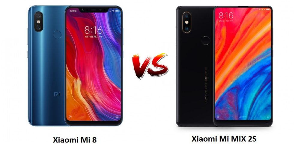 Mi Mix 2s или Mi8