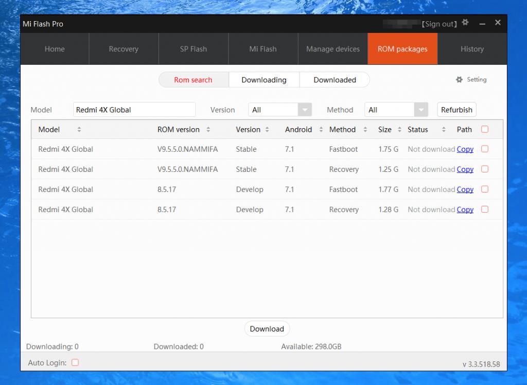 Обзор программы Mi Flash - как прошить Xiaomi