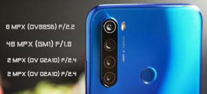 Камеры Xiaomi Redmi Note 8