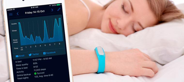 Определение фаз сна на фитнес-браслете